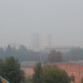 Вінницю затягнув їдкий дим, місцева влада нічого не пояснює