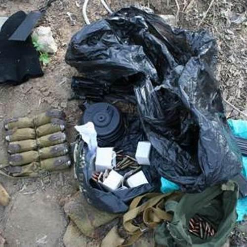 Масштабну схованку з боєприпасами викрили на Донеччині