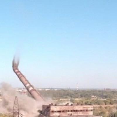 """У мережі з'явилося відео вибуху труби """"Запоріжсталі"""" (ВІДЕО)"""