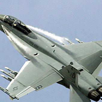 У Великобританії розбився американський винищувач F-18