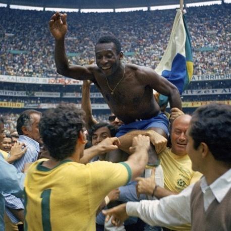 Король футболу Пеле святкує ювілей