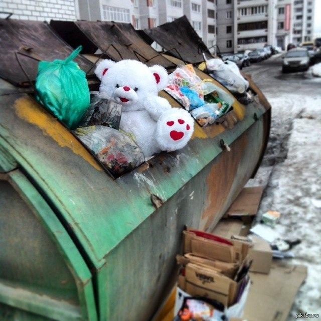 У Слав'янську безхатченко врятував життя немовляті, яку знайшов у смітнику
