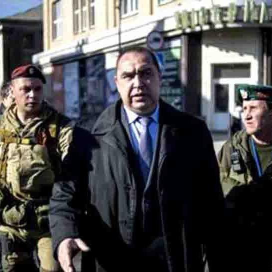 Злий Плотницький повернувся з Москви та пообіцяв розстріляти усіх, хто виступить проти нього (ВІДЕО)