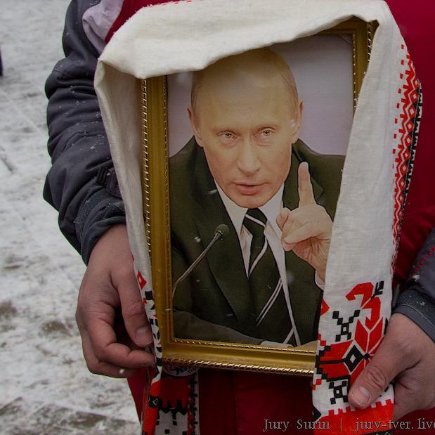 Православні росіяни просять причислити Путіна до ліку святих