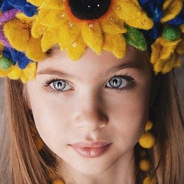 8-річна українка стала найкрасивішою дівчинкою світу (фото)