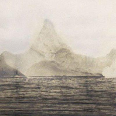 """Фотографія айсберга, що потопив """"Титанік"""",  пішла з молотка за 21 тис фунтів стерлінгів (фото)"""