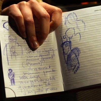 Французькому дипломату заборонили малювати Савченко під час судового засідання