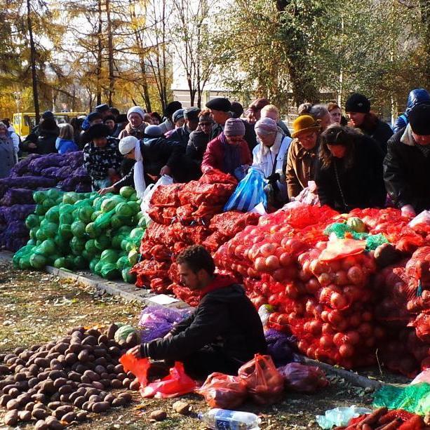 """""""Міністр продовольства"""" """"ДНР"""" заявив, що у Донецьку закінчилася картошка"""