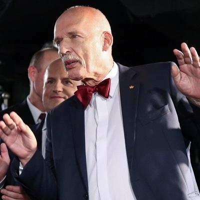 Польського євродепутата відсторонили від роботи в Європарламенті за нацистське привітання (відео)