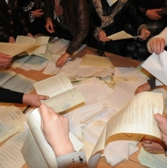 В Одесі міліція перевіряє факт щодо виправлення в протоколі результатів виборів на користь одного з кандидатів