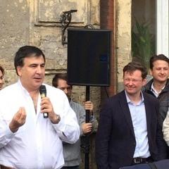 Саакашвілі та Боровик збирають мітинг проти фальсифікації виборів
