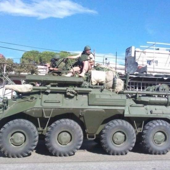 Журналісти сфотографували російські наземні війська в Сирії (ФОТО)