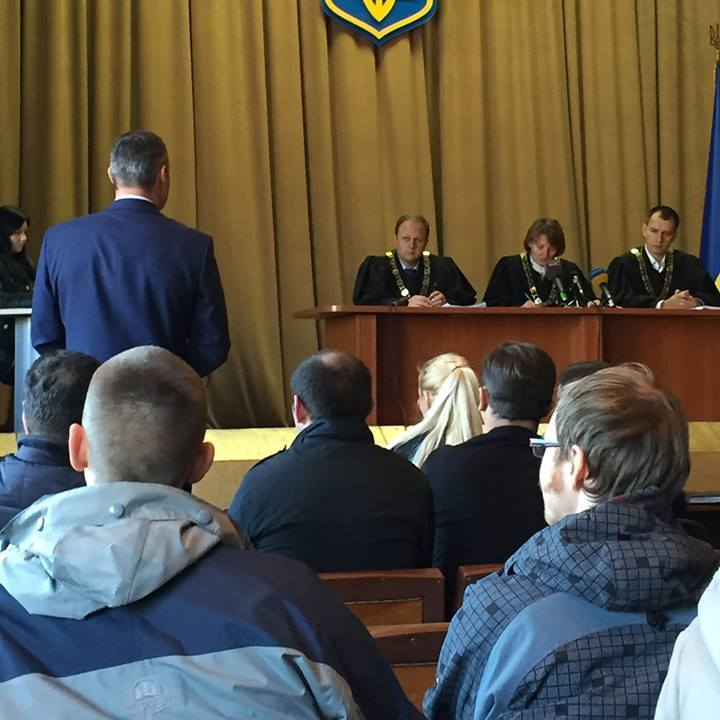 Кличко особисто прийшов до суду відстоювати київський стадіон