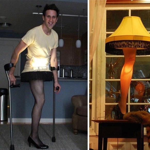 Американський інвалід дивує світ своїми образами на Хеллоуїн