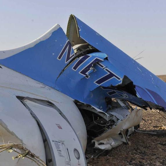 У Росії повідомили, що літак над Єгиптом був зруйнований в повітрі