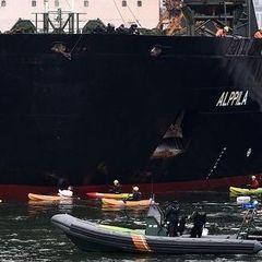 Greenpeace не пустив російський корабель в порт Фінляндії
