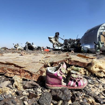 """Російська авіакомпанія """"Когалимавіа"""" назвала причину катастрофи літака над Єгиптом"""