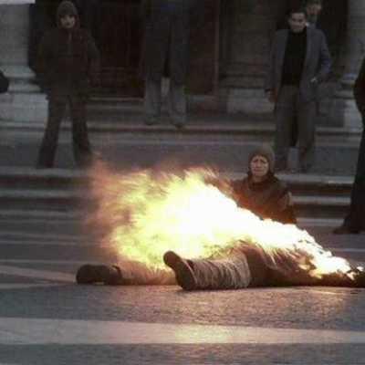 47 років тому на Хрещатику член УПА спалив себе, протестуючи проти агресії СРСР
