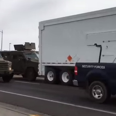 У США броньовик врізався у вантажівку з ядерною боєголовкою (ВІДЕО)
