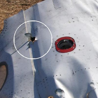 На фюзеляжі зазнавшого катастрофи А321 виявлені пробоїни невідомого походження (ФОТО)