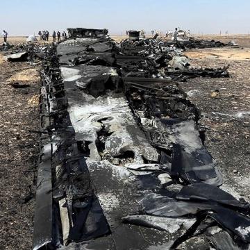 Бомба була встановлена в багажному відсіку А321 перед вильотом - британські слідчі