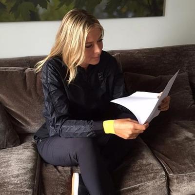 Тенісистка Марія Шарапова засіла за написання мемуарів