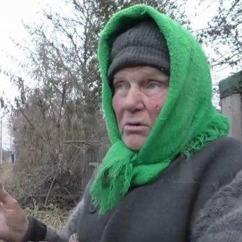 Бабуся з Донбасу проаналізувала поведінку Путіна (відео)