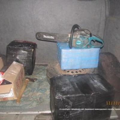 Прикордонники затримали 167 кілограмів пороху з Росії