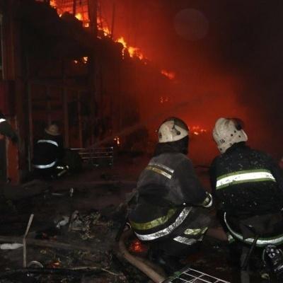 Пожежу у харківському торговельному центрі ліквідовано