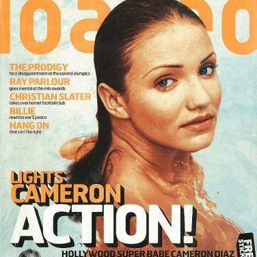 Прихильники знайшли відверті знімки Камерон Діаз з 90-х років(фото)