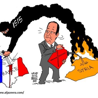 Арабські ЗМІ намалювали карикатури на теракти в Парижі (ФОТО)