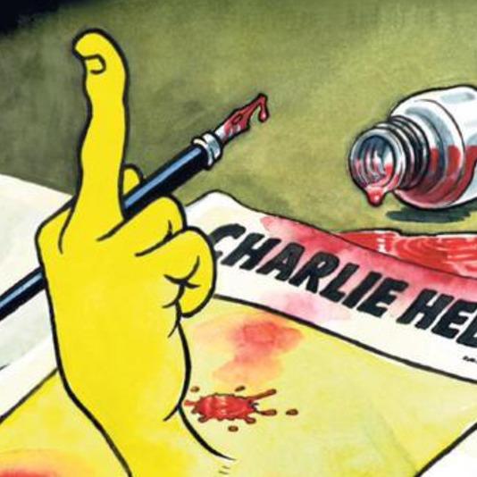 Charlie Hebdo зважився намалювати карикатуру на теракт у Парижі
