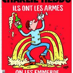 Charlie Hebdo намалював нову карикатуру на теракти в Парижі (ФОТО)