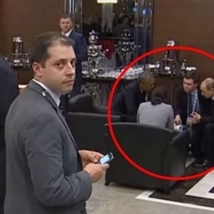 Кумедний «шпигун з G20» і раніше стежив за Путіним і Обамою (відео)