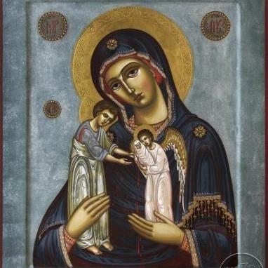 У київському монастирі з'явилася ікона Богородиці - втілення покаяння про дітей, убитих в материнській утробі.