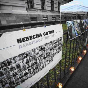 У Литві вшанували загиблих на Майдані(фото)