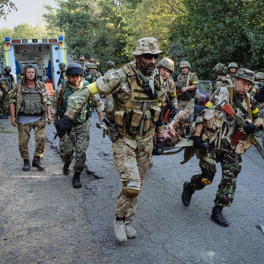 """""""Російсько-терористичні найманці 40 разів відкривали вогонь"""", - прес-штаб АТО"""