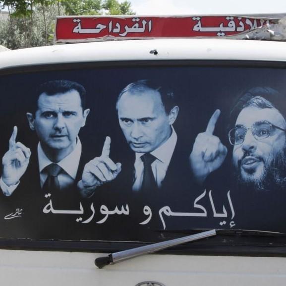 """""""Путін і Асад - м'ясники-брати"""": у Петербурзі пройшла акція протесту (ВІДЕО)"""
