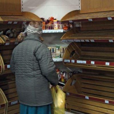 У Сімферополі нема хліба