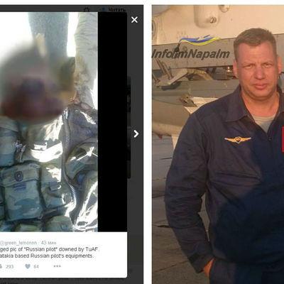 Експерти ідентифікували одного з пілотів збитого російського Су-24 (ФОТО)