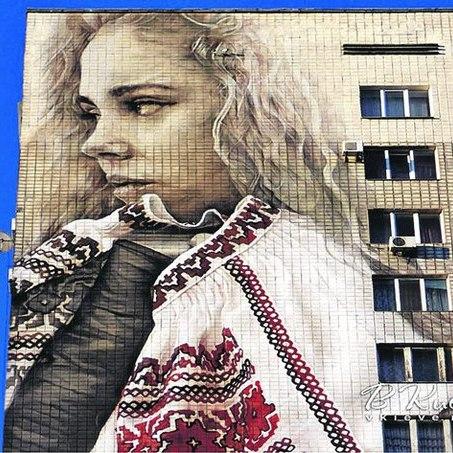Київський мурал зареєструють по двох номінаціях у Книзі рекордів Гіннеса (ФОТО)