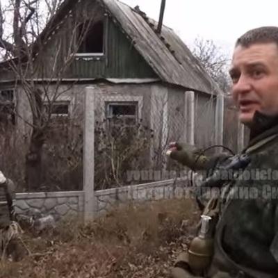 """Бойовики """"ДНР"""" встановили розтяжки біля Авдіївки (ВІДЕО)"""
