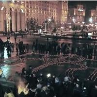 Спеціально до ночі пам'яті, яка пройде на Майдані, активісти створили молитву(відео)