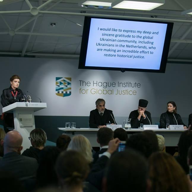 У Голландії відкрито першу конференцію, присвячену Голодомору(фото)