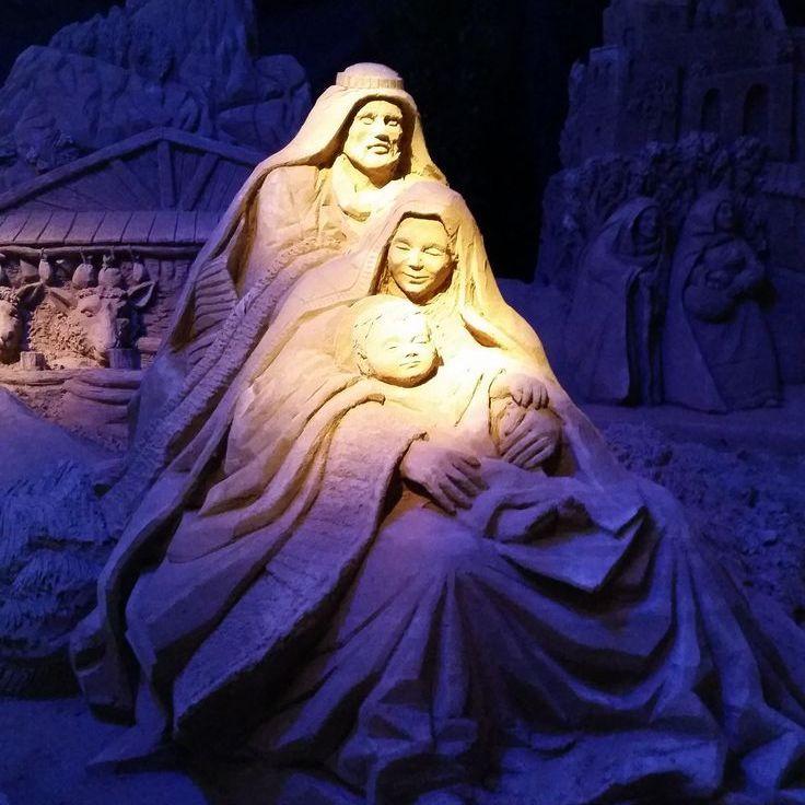 В Італії зробили різдвяний вертеп із піску (фото)