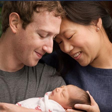 У Марка Цукерберга народилася донька
