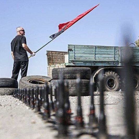 На Херсонщині помер один з учасників блокади Криму