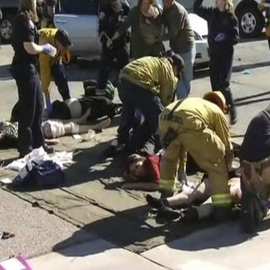 Винуватець стрілянини у США зміг втекти від поліції (фото)