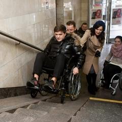Українські зірки сіли на інвалідні візки(фото)