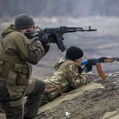 Бойовики всю ніч обстрілювали українські позиції